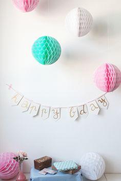 Happy Birthday Wimpelkette DIY 5a