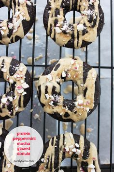 Gluten-Free, egg free, dairy free Peppermint Donuts You Can Enjoy Year-Round