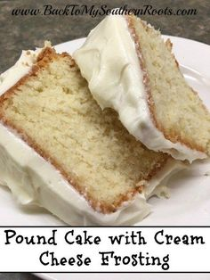 Pound Cake with Cream Cheese Glaze is such a delicious, treat. I love anything with a cream cheese flavor to it, and the glaze adds a richness to the pound cake.