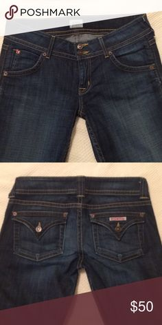 Hudson signature petite boot cut These jeans are flawless! I accidentally ordered the wrong size from another posher :(. Hoping to trade for a 28. Inseam 30. Hudson Jeans Jeans Boot Cut