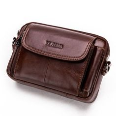 0281f933d30b30 Vintage Genuine Leather Large Capacity Multi-function Phone Waist Bag  Crossbody Bag For Men is hot-sale, many other cheap crossbody bags on sale  for men are ...