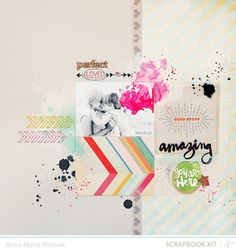 Beyond Measure by ania-maria at @Studio_Calico  August 2013  MARKS & CO Project life Kit · More Color - August 2013 · Woolf · Salinger · Bronte · MARKS & CO Scrapbook Kit