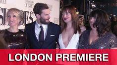 Fifty Shades of Grey London Premiere Interviews - Jamie Dornan, Dakota J...