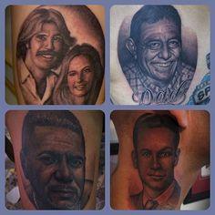 Tim Hendricks Portrait Tattoos