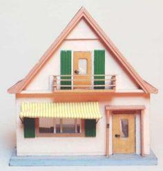 German 50's doll houses