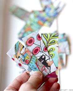 mini moo card love...I love this artist!