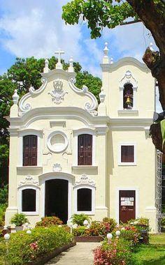 Capela de Nossa Senhora da Conceição, Capelinha da Jaqueira, em Recife, Brasil