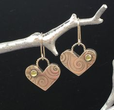 Sweet as a box of chocolates! Bronze Jewelry, Chocolate Box, Emboss, Chocolates, Heart Shapes, Belly Button Rings, Copper, Sterling Silver, Sweet