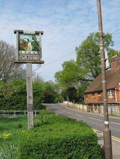 Staplehurst Village Sign | The Garden of England. |