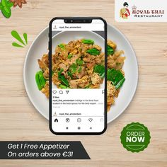Tasty Thai preparation cooked in the authentic style and served with love for you. Order online today! . . . . #SafetyFirst #OnlineOrder #FreeDelivery #Thai #ThaiFoods #ThaiDishes #Cuisines #FoodPorn #Foodie #ThaiCuisine #Restaurant #Yummy #Delicious #ThaiFoodLover #FoodLovers #FoodBlogger #SeaFood #ThaiRestaurant #RoyalThai #HygienicEnvironment Best Thai Restaurant, Authentic Thai Food, Tasty Thai, Thai Dishes, Thai Recipes, Amsterdam, Seafood, Curry, Food Porn