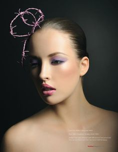 #purple #shadow #pink #lip