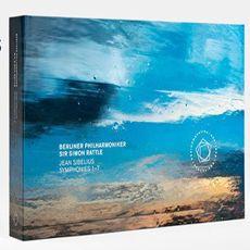 [알라딘][수입] 시벨리우스 : 교향곡 전곡 (4CD+Blu-ray Video+Blu-ray Audio) [베를린 필하모니커 자체 제작상품 알라딘 단독 판매]