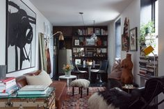 How we transformed a cozy, pre-war apartment into the perfect pied-à-terre for our nomadic life.