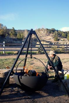 Outdoor Fire Pits & Grills   Cowboy Cauldon
