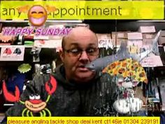 sundays weather at pleasure anglings tackle & bait shop deal kent 1st march