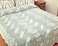 PDF Crochet bedspread pattern bedcover Crochet by Marypatterns
