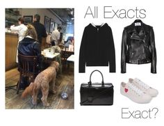 """""""Eleanor with Bruce at a restaurant (updated)"""" by thetrendpear-eleanor ❤ liked on Polyvore featuring Banjo & Matilda, Acne Studios, Converse and Yves Saint Laurent"""