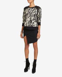 rag & bone Abstract Print Box Sweatshirt | Shop IntermixOnline.com