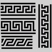Ancient Greek key patterns