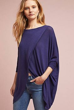 Oversized Crossover Top, great for breastfeeding moms!