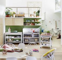 Unique Die Transformation vom Arbeitsraum K che zum Lebensraum Concept Kitchen von Naber