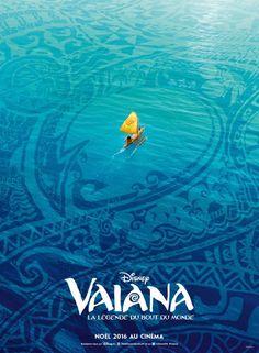 international poster for Disney's Moana.