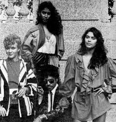 Vanity 6 and Morris Day