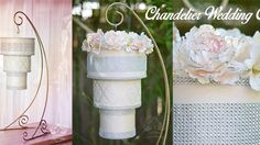 Tutorial —How to make a chandelier cake