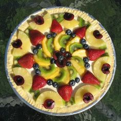 Fruit Pizza   Recipes   Spoonful
