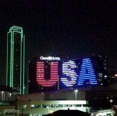 Omni Hotel Dallas celebrates #USWNT win to become Women's World Cup champs.