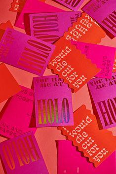 Glenmore Valentine's Day Promotion: Those Who Print Together, Stay Together. - Fonts In Use Lettering, Typography Design, Logo Design, Packaging Design Inspiration, Graphic Design Inspiration, Layout, Bussiness Card, Print Packaging, Grafik Design