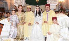 Prince Moulay Rachid et Lalla Oum Keltoum
