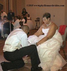 Keith removing Shenae's garter.  http://www.phyllismarshvideo.com