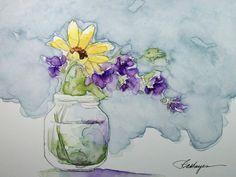 I love watercolor paintings!