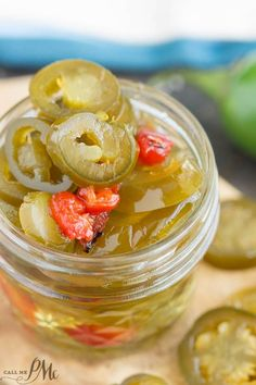 Candied Sweet Heat Pickled Jalapeno Recipe is a tasty combination of sweet, savory, and hot flavors.
