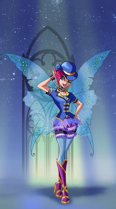 Winx Episode Shimmer In The Shadows I Dont Remember But It Seems There Was A Halloween Gothic Party
