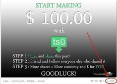 Hey, join me on Tsu ,a social network that shares the revenues with us .Chek it out:https://www.tsu.co/tus2014