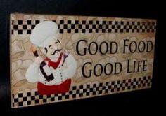fat chef kitchen decor - Google Search