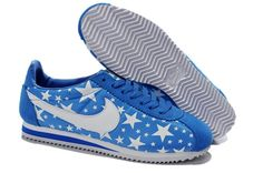 Cortez Nike Classic Nylon Mens Shoes Glowing Star White