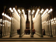 Chris Burden's Lights - Los Angeles County Museum Of Art (LACMA) | Discover Los Angeles