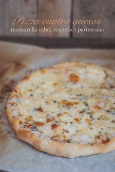 Pizza cuatro quesos | pizza quattro formaggi