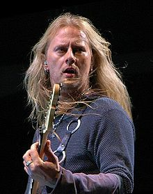 Jerry Cantrell - love both his solo work and his work with Alice in Chains
