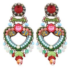 Setty Gallery - Ayala Bar Jewelry Viridian  Earrings, $224 (http://www.settygallery.com/ayala-bar/ayala-bar-jewelry-viridian--earrings/)