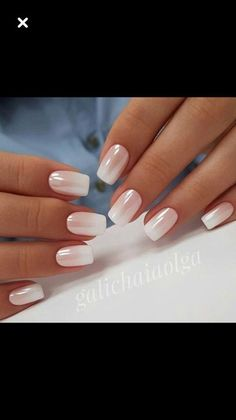 Pedicure Designs, Nail Art Designs, French Nails, Cute Nails, Pretty Nails, Nagellack Trends, Nagel Gel, Manicure And Pedicure, Short Nails