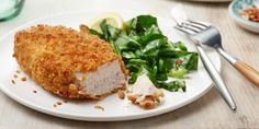 It's hard to resist this quick, oil-free version of the family favorite. Air Fryer Dinner Recipes, Air Fryer Recipes, Food Network Recipes, Cooking Recipes, Air Fryer Baked Potato, Air Fryer Pork Chops, Small Baking Dish, Food Network Canada, Boneless Pork Chops