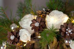 DIY: Weihnachtsdeko Basteln   Adventsgesteck Mit Zweigen Deko Kitchen |  Новий рік,Різдво | Pinterest | Winter Christmas And Crafts