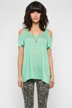 like the minty top.  not the pants.