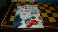 George Washingtons Breakfast Jean Fritz softcover 1989 Printing Free Shipping #TrumpetClunSpecialEdition