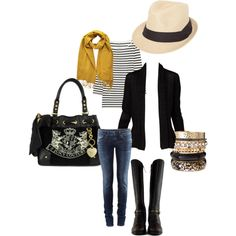 """""""Black & White"""" by harriman777 on Polyvore"""