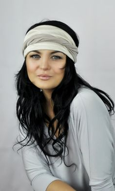 Items similar to Headband Turban Two Tone Double Layer Twist Fabric Elastic Back Bohemian or . Items similar to Headband Turban Two Tone Double Layer Twist Fabric Elastic Back Bohemian or Native Native American Hair, Nursing Scarf, Head Wrap Headband, Cute Headbands, Diy Scarf, Going Out Outfits, Hair Accessories For Women, Boho Outfits, Taupe